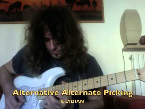 Roberto Vanni: Alternative Sequences & Patterns for Alternate Picking