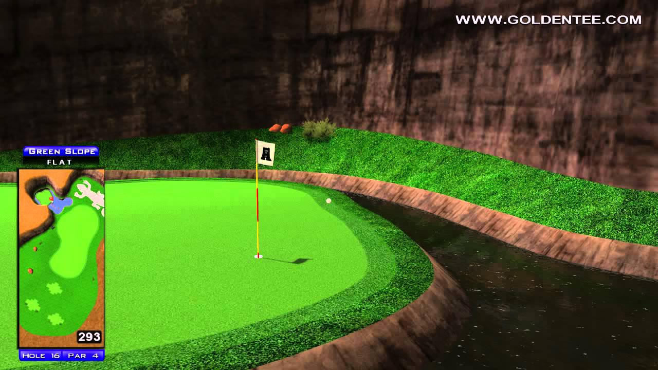 Golden Tee Replay on Monument Valley