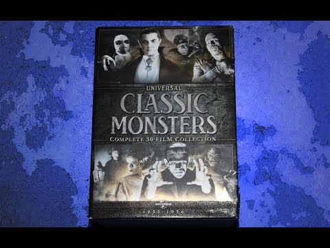 Universal Classic Monsters: The Complete 30-Film Collection DVD