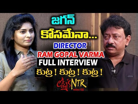 Director Ram Gopal Varma Exclusive Interview   Lakshmi's NTR