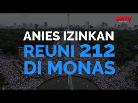 Anies Izinkan Reuni 212 Di Monas