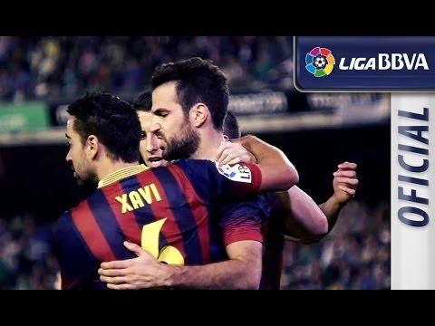 Edición limitada: Real Betis (1-4) FC Barcelona - HD (видео)