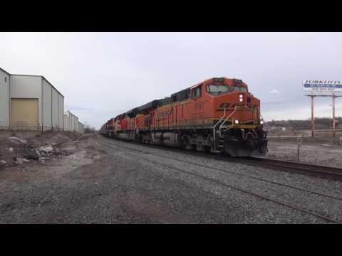 Kansas City Rail Action 1/28-29/2017