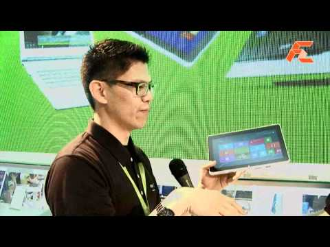 Acer Tablets and Notebooks – Computex 2012