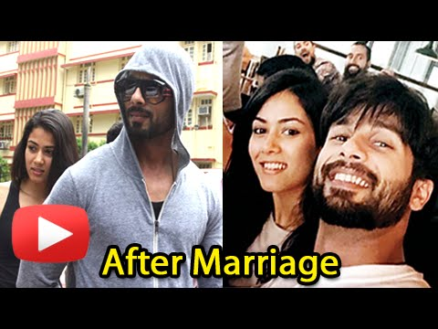 Aww! Shahid Kapoor & Mira Rajput After Marriage Li