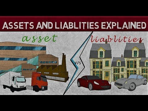 Assets And Liabilities Explained In Hindi , Liablity Meaning And Asset Meaning In Hindi
