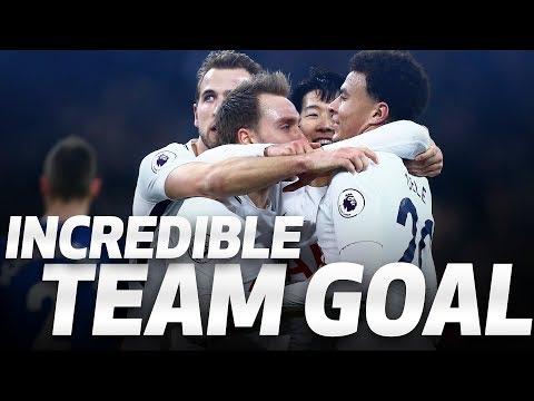 Video: INCREDIBLE TEAM GOAL | Spurs 4-0 Everton