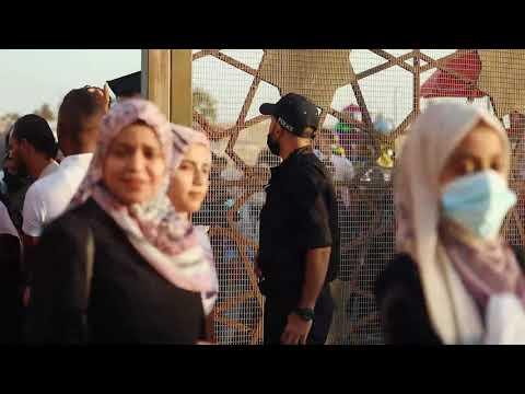 جهود الشرطة الفلسطينية في تأمين احتفالات التخرج بجامعتي الأزهر والأقصى