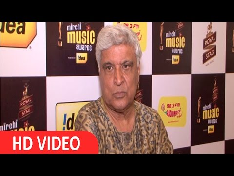 Javed Akhtar At Mirchi Music Award Jury