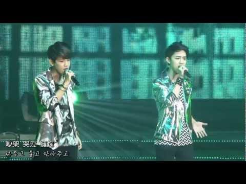 [GOBAEK中字] EXO - Showcase Part 2 (歌詞字幕) 1080P видео