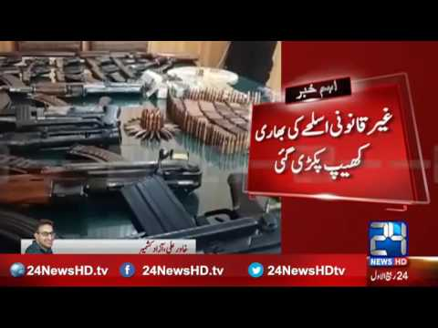 Police operation in Azad Kashmir