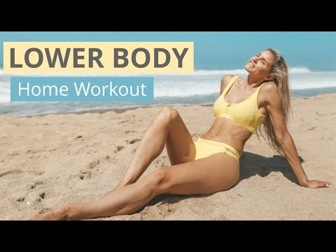Lower Body Workout - TOTAL TONE AT HOME | Rebecca Louise