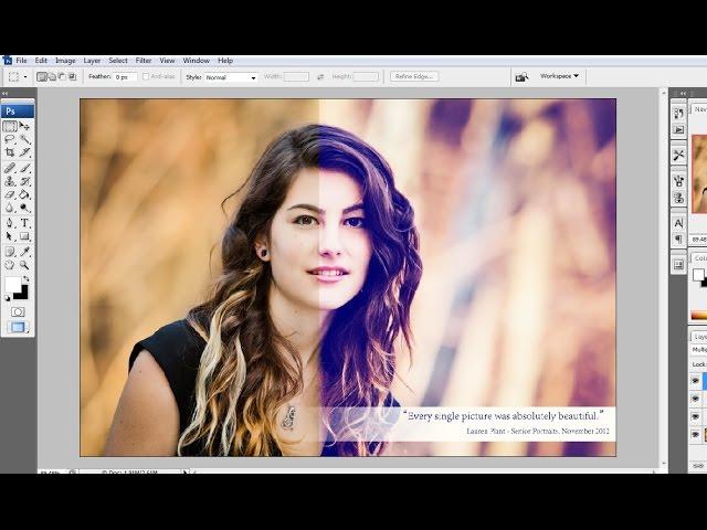 Cara Membuat Efek Foto Retro Di Photoshop | Mp3FordFiesta.com