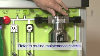 The Glostavent® Anaesthesia Machine: Maintenance and Servicing
