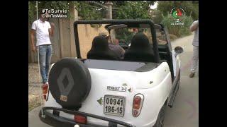 Rezki ce mécanicien qui a customisé sa Renault 4 plein confinement- Canal Algérie