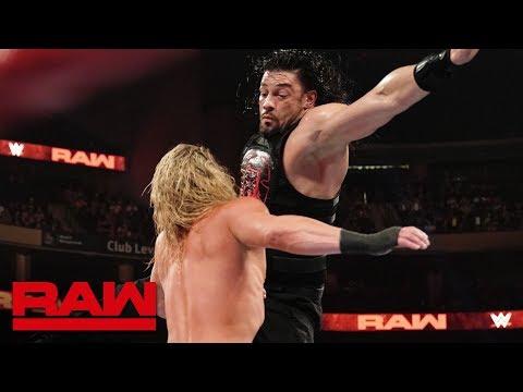 Roman Reigns vs. Dolph Ziggler: Raw, Aug. 19, 2019