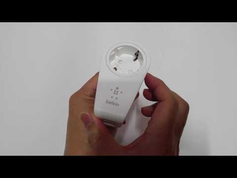 Belkin 2-port swivel charger+outlet
