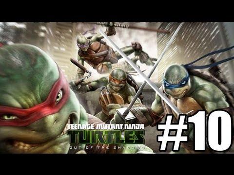 Прохождение Teenage Mutant Ninja Turtles Out of the Shadows Часть 10