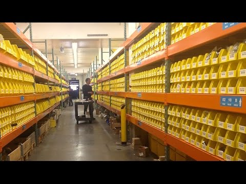 VAN DYK Warehouse Tour and Order Fulfillment Process