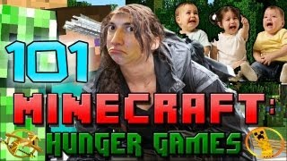 Minecraft: Hunger Games w/Mitch! Game 101 - Mah Baby Gurls/Inspiration