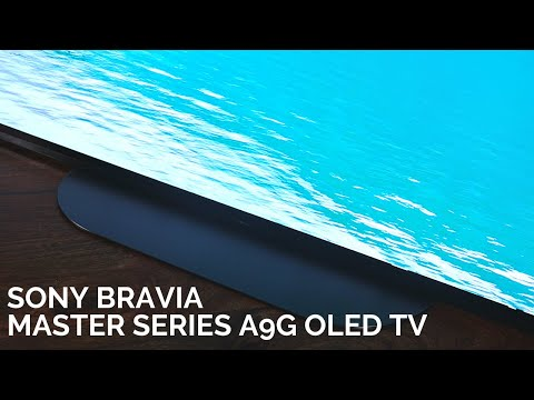 Sony Master Series A9G OLED TV: The best OLED TV money can buy!