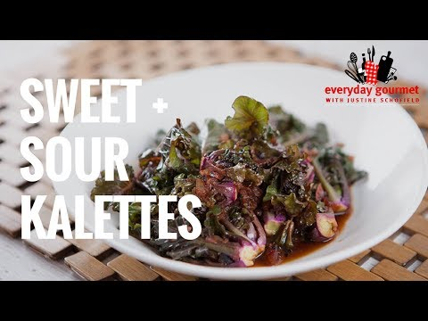 Sweet and Sour Kalettes | Everyday Gourmet S7 E37