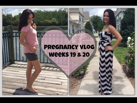 Pregnancy Vlog Weeks 19 & 20 | Anatomy Scan, Baby Kicks & Birth Plan?