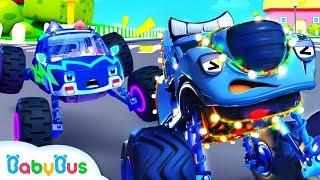 Video Police Truck Chases Bad Guy | Police Cartoon | Nursery Rhymes | Kids Songs | Color Song | BabyBus MP3, 3GP, MP4, WEBM, AVI, FLV Januari 2019