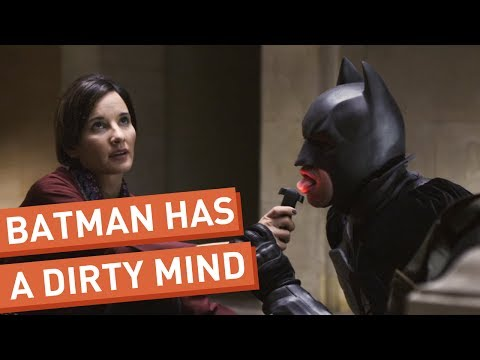 Batman Can't Stop Thinking About Sex (видео)