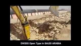 video thumbnail Hydraulic Breaker, rock hammer youtube