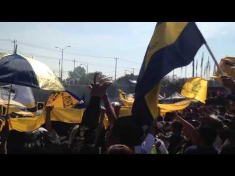 La rebel llegando al Estadio Olímpico Universitario en su X6 aniversario - La Rebel - Pumas
