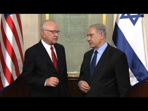 "Statements by PM Netanyahu and Howard P. ""Buck"" McKeon"