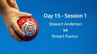 Just. 2020 World Indoor Bowls Championships: Day 15 Session 1- Stewart Anderson VS Robert Paxton