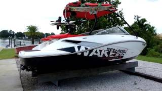 5. 2010 Sea Doo Wake 210 w/ twin 215 HP Engines (75hrs) Sport Tower **Gulfport, MS.**