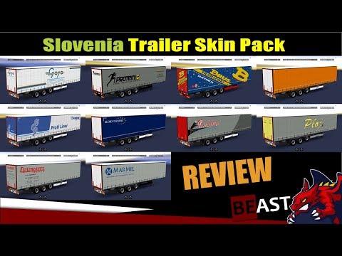 Slovenia Trailer Skin Pack v1.0