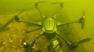 Video I Found a Crashed Drone Underwater While Scuba Diving! (Returned to Owner) MP3, 3GP, MP4, WEBM, AVI, FLV Januari 2019