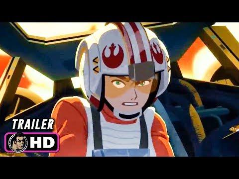 STAR WARS: GALAXY OF ADVENTURES Trailer (2019) Disney