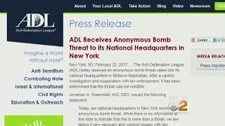 Video NY ADL Offices Receive Bomb Threat Amid Rise In Anti-Semitic Attacks MP3, 3GP, MP4, WEBM, AVI, FLV Juli 2018
