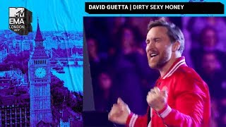 David Guetta, Charli XCX & French Montana Perform 'Dirty Sexy Money' | MTV EMAs 2017 | MTV Music