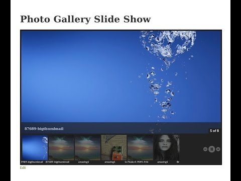 WordPress responsive photo gallery