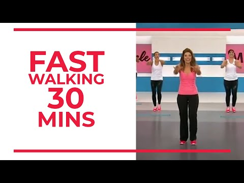 Tuesday | FAST Walking in 30 minutes | Fitness Videos