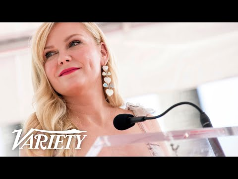 Kirsten Dunst Walk of Fame Ceremony