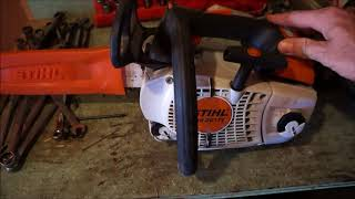 7. stihl 201t c m review