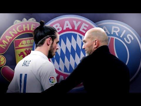 Video: Bayern Munich & PSG To Battle For Gareth Bale Transfer After Zidane Bust-Up! | W&L
