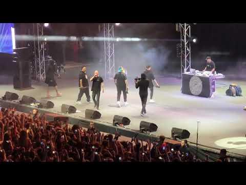 Oxxxymiron и Dizaster вместе выступили на концерте