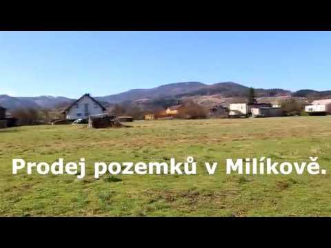 Prodej stavebního pozemku 1413 m2, Milíkov