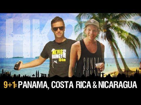 HK2NY Ep 9+1: Backpacking in Panama, Costa Rica & Nicaragua