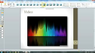 PowerPoint 2010 Video and Audio