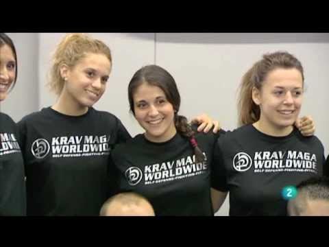 "Defensa Personal Femenina – Krav Maga Worldwide Barcelona – ""Para todos la 2″  TV2"