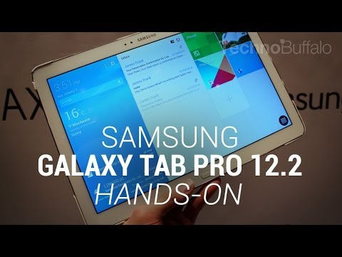 Samsung Galaxy Tab Pro 12.2 – Hands On – CES 2014